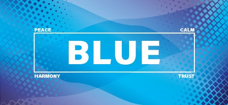 The psychology of the color blue