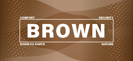 The psychology of the color brown