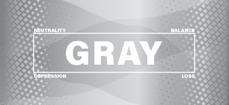 The psychology of the color gray