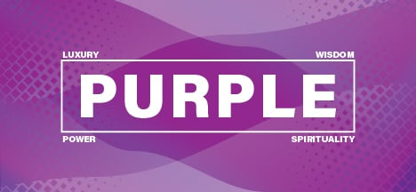 The psychology of the color purple