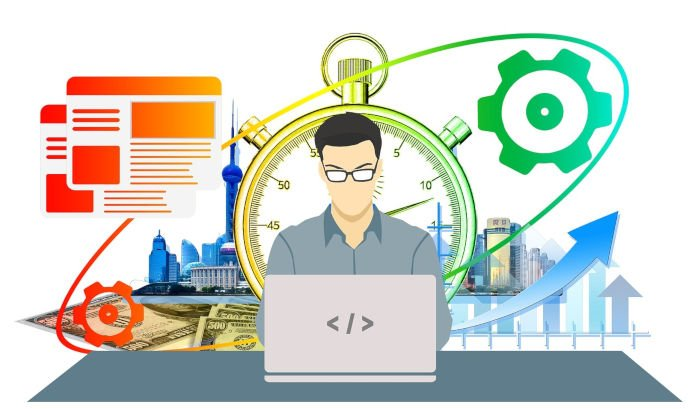 Web designer considers best practices