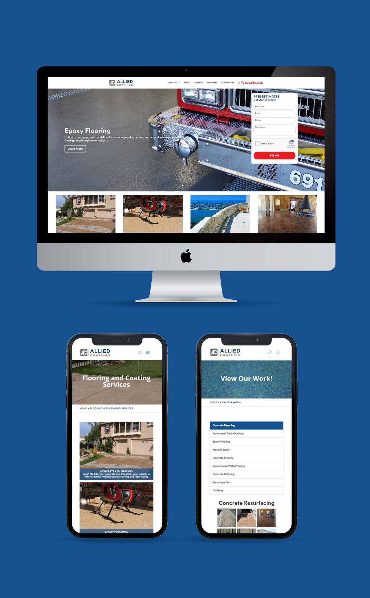 Allied Coatings website