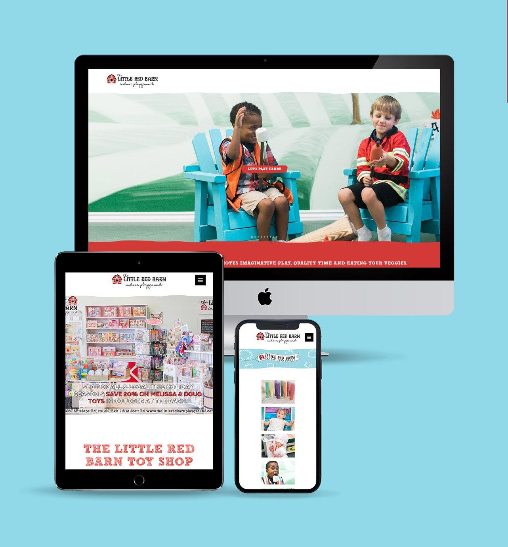 Little Red Barn website