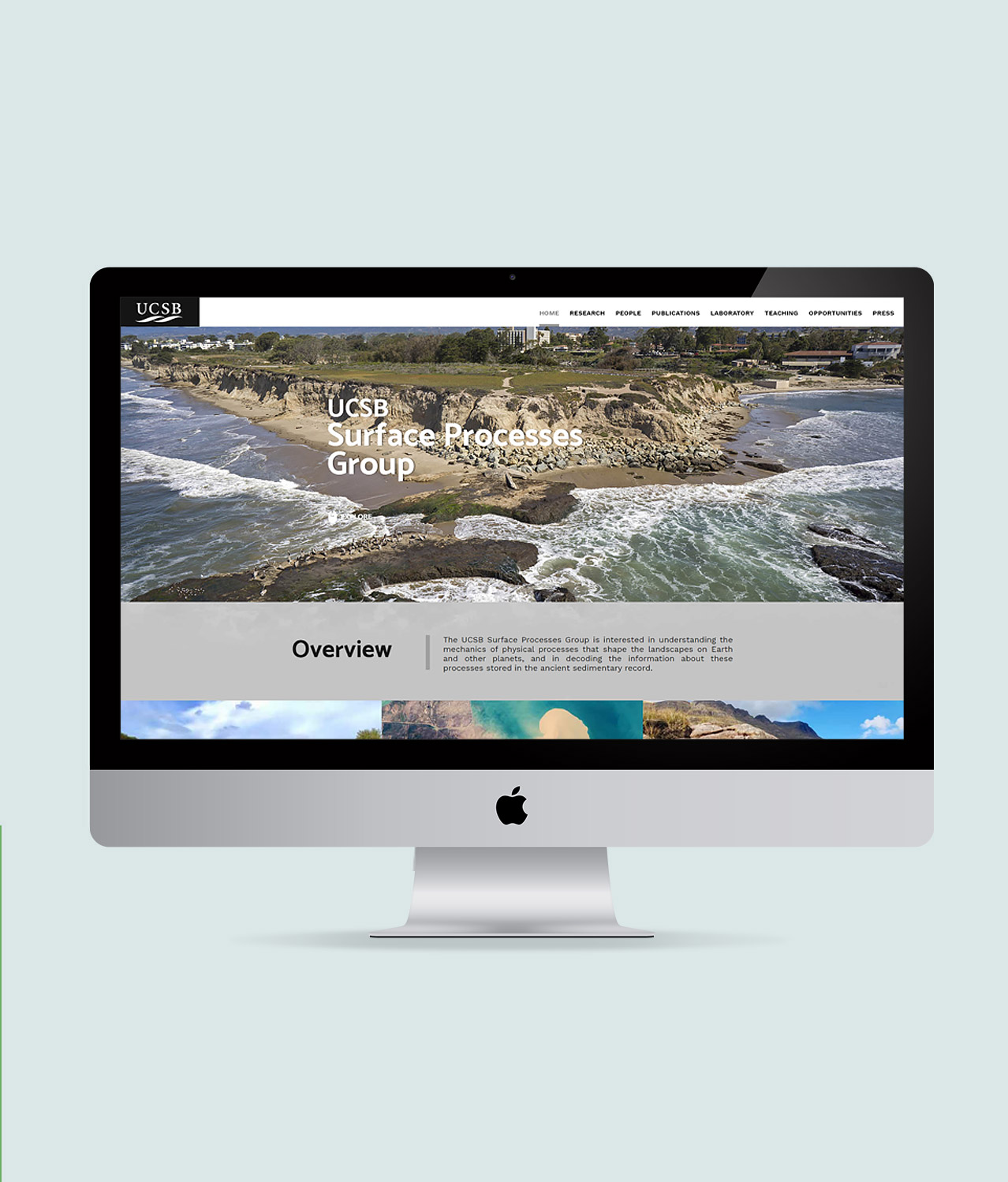 UCSB website