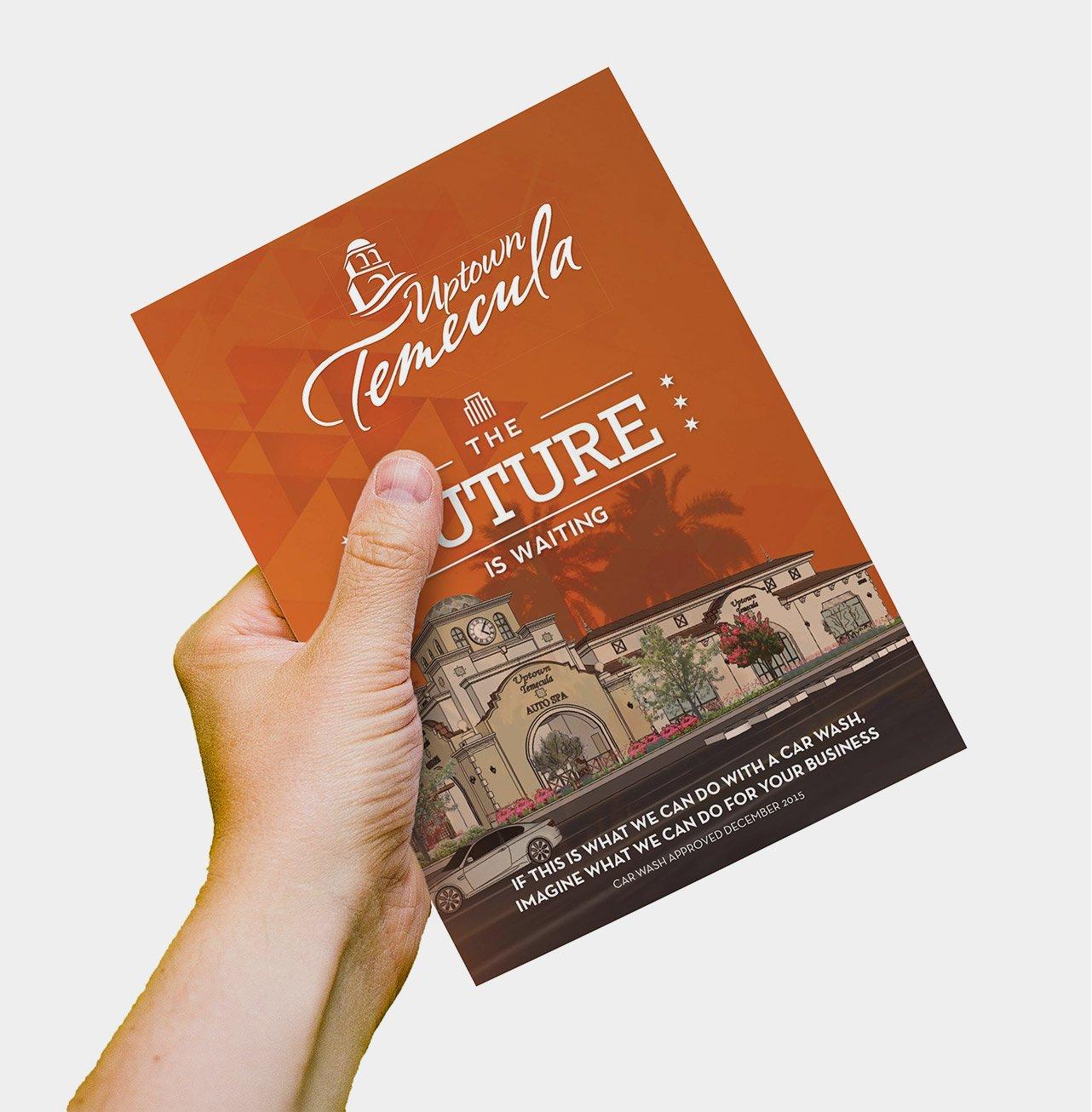 Uptown Temecula booklet