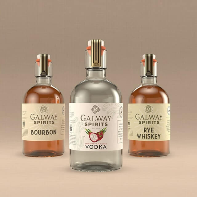 Galway Spirits package design