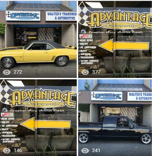 Advantage Automotive Google My Business photos