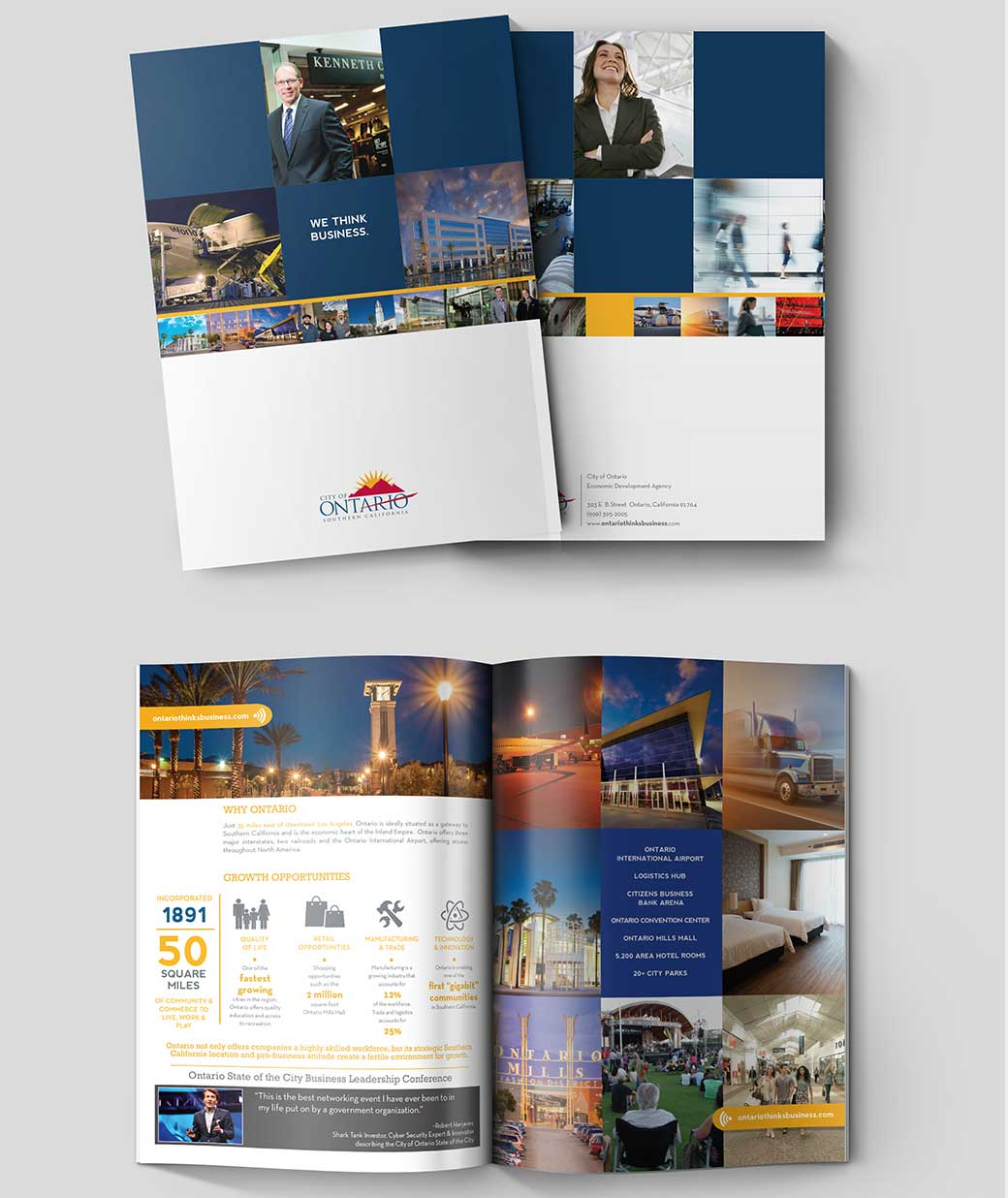 Ontario State of the City printed materials