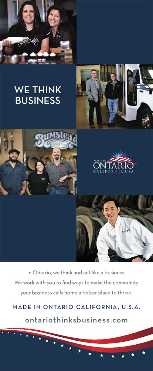 Ontario State of the City banner