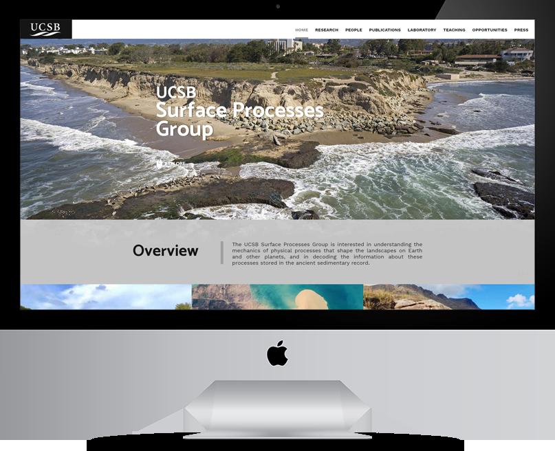 USCB website on desktop