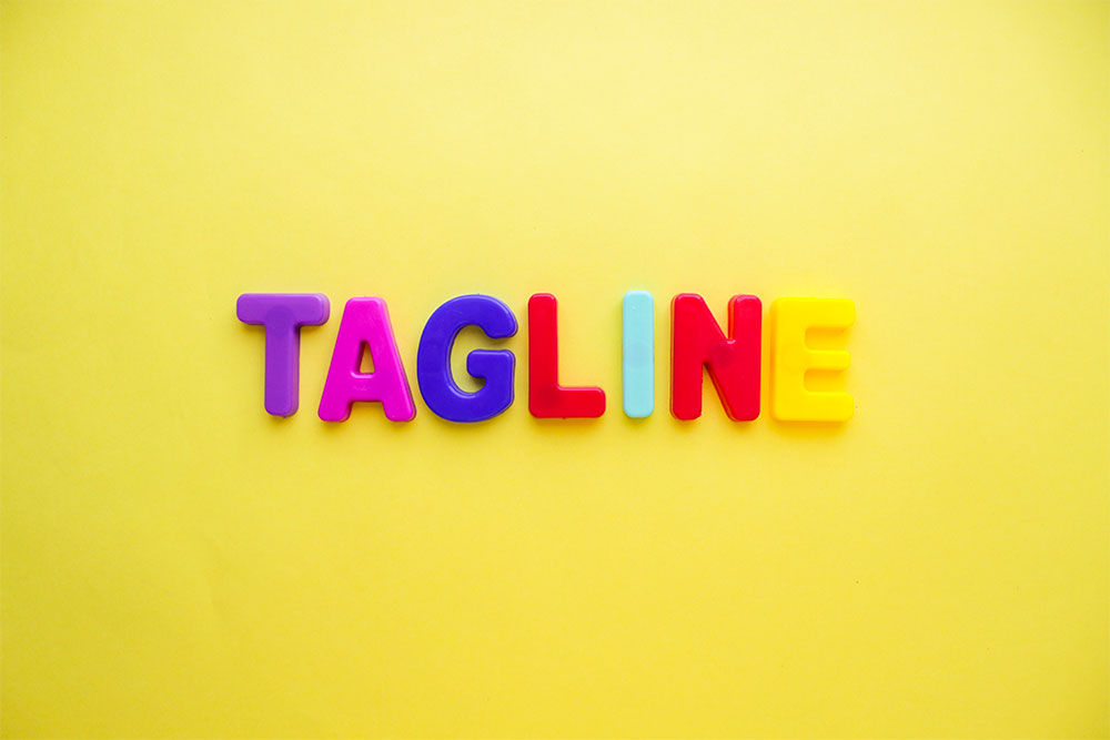 create a tagline